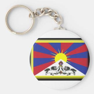 Bandeira de Tibet Chaveiros
