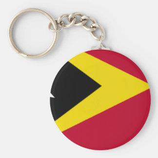 Bandeira de Timor-Leste Chaveiro