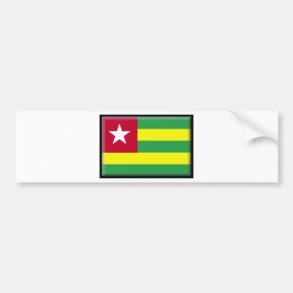 Bandeira de Togo Adesivo Para Carro
