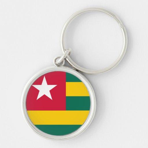 Bandeira de Togo Chaveiros