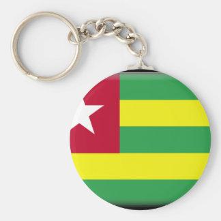 Bandeira de Togo Chaveiro