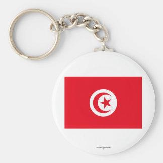 Bandeira de Tunísia Chaveiro
