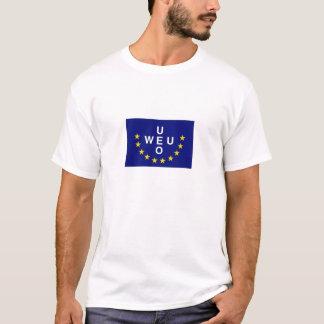 Bandeira de união europeu de leste camiseta