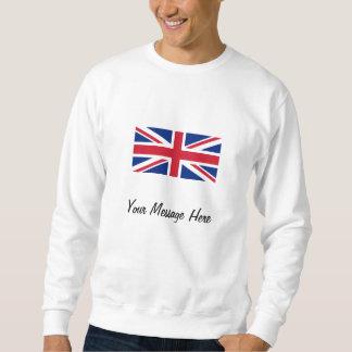 Bandeira de Union Jack da camisola de Grâ Bretanha Moleton