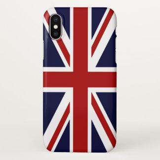 Bandeira de Union Jack de Grâ Bretanha Capa Para iPhone X