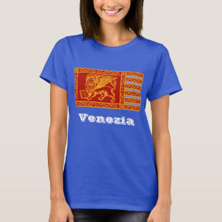 Bandeira de Veneza T-shirt
