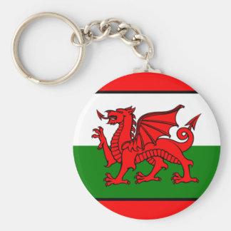 Bandeira de Wales Chaveiro