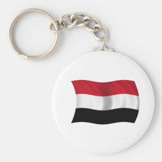 Bandeira de Yemen Chaveiro