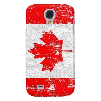Bandeira desvanecida de Canadá Galaxy S4 Covers