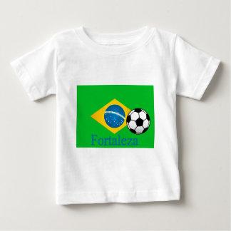 Bandeira do brasileiro de Fortaleza Camiseta Para Bebê