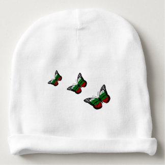 Bandeira do búlgaro da borboleta gorro para bebê