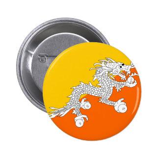 Bandeira do Butão Botons