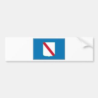 Bandeira do Campania (Italia) Adesivo Para Carro