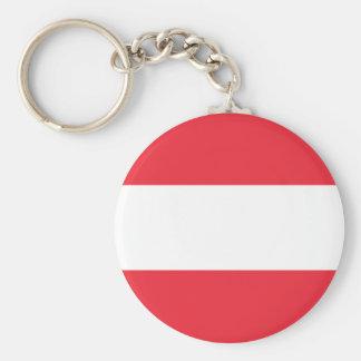 Bandeira do chaveiro de Áustria