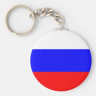 Bandeira do chaveiro de Rússia