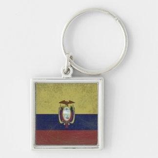 Bandeira do equador chaveiros