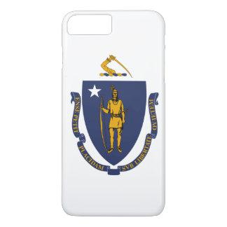 Bandeira do estado de Massachusetts Capa iPhone 8 Plus/7 Plus