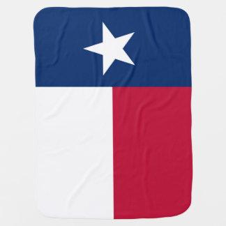 Bandeira do estado de Texas - cor autêntica de Cobertores Para Bebe