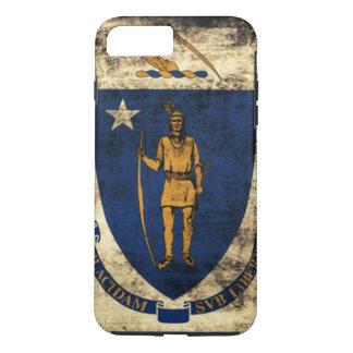 Bandeira do estado do Grunge do vintage de Capa iPhone 7 Plus