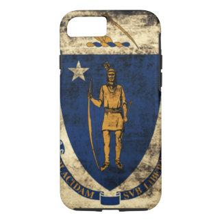 Bandeira do estado do Grunge do vintage de Capa iPhone 8/7