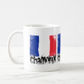 Bandeira do Grunge de Chamonix Caneca De Café