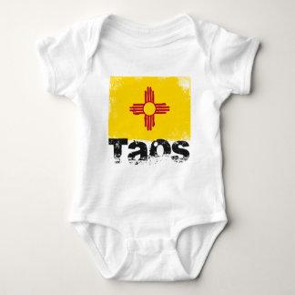 Bandeira do Grunge de Taos Body Para Bebê