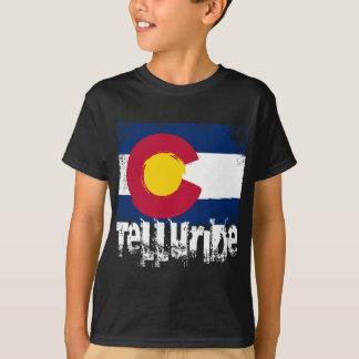 Bandeira do Grunge do Telluride T-shirts