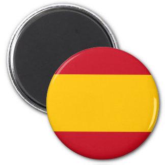 Bandeira do ímã redondo da espanha ímã redondo 5.08cm