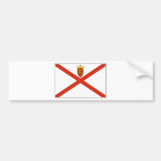 Bandeira do jérsei (Reino Unido) Adesivo Para Carro