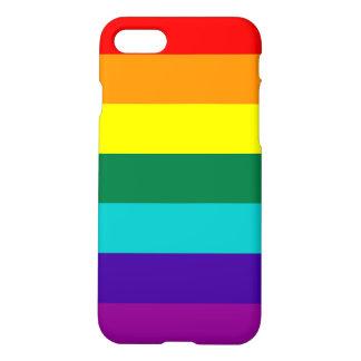 Bandeira do orgulho do arco-íris de 7 listras capa iPhone 7