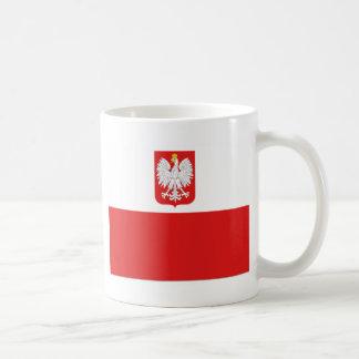 bandeira do Polônia Caneca De Café