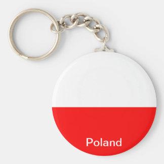 Bandeira do Polônia Chaveiro