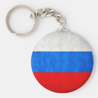 Bandeira do russo chaveiro