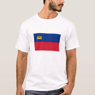Bandeira do t-shirt de Liechtenstein