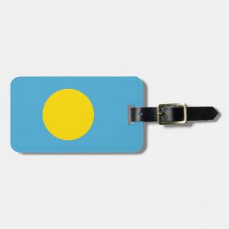 Bandeira do Tag da bagagem de Palau com correia de Tag De Mala