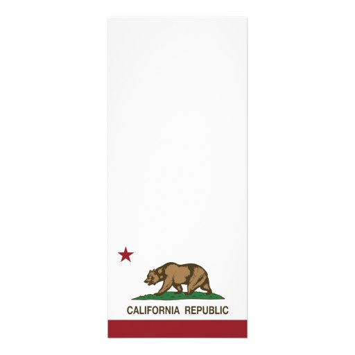 Bandeira do urso da república de Califórnia Convites