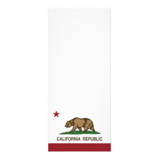 Bandeira do urso da república de Califórnia Convites Personalizados