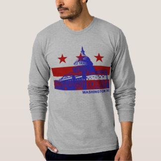 Bandeira do Washington DC T-shirts