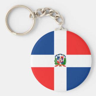 Bandeira dominiquense chaveiro