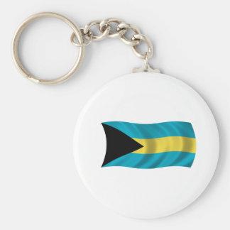 Bandeira dos Bahamas Chaveiros