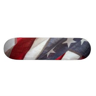 Bandeira dos Estados Unidos Shape De Skate 18,4cm