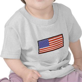 Bandeira dos Estados Unidos T-shirt