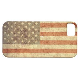 Bandeira dos EUA - Grunge Capa Barely There Para iPhone 5