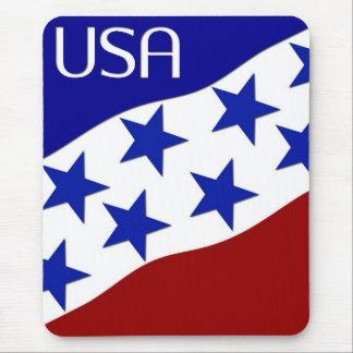 Bandeira dos EUA tapetes para ratos