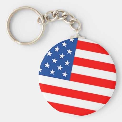 Bandeira dos EUA Chaveiro