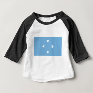 Bandeira dos Federated States of Micronesia Tshirt