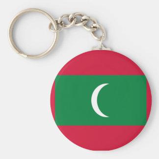 Bandeira dos Maldives Chaveiro