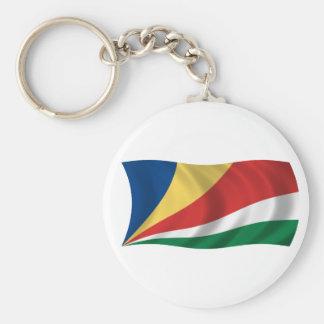 Bandeira dos Seychelles Chaveiro