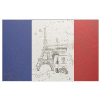 Bandeira e símbolos de France ID156 Tecido