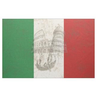 Bandeira e símbolos de Italia ID157 Tecido